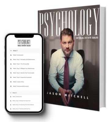 Psychology or Real Estate Sales book and phone